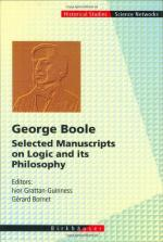George Boole and the Algebra of Logic by