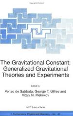 Gravitational Constant by
