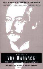 Harnack, Adolf Von by