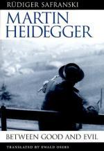 Heidegger, Martin (1889-1976) by
