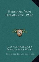 Helmholtz, Hermann Ludwig Von (1821-1894) by