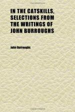 John Burroughs (1837 - 1921) American Naturalist and Writer by