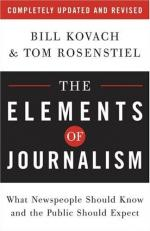 Journalism, Professionalization Of by