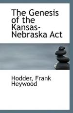 Kansas Nebraska Act by