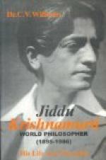 Krishnamurti, Jiddu by