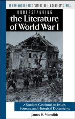 Literature, World War I by