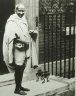 Mohandas Karamchand Gandhi (1869 - 1948) Indian Religious Leader by