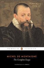 Montaigne, Michel Eyquem De (1533-1592) by