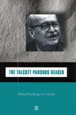 Parsons, Talcott by