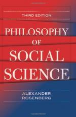 Philosophy of Social Sciences by