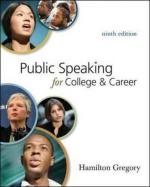 Public Speaking, Careers In by