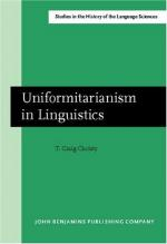 Uniformitarianism by