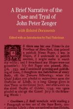Zenger, John Peter by