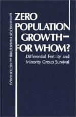 Zero Population Growth by