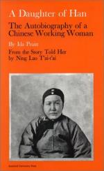 A Daughter of Han; the Autobiography of a Chinese Working Woman by Lao Toai-Toai Ning