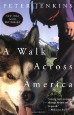 A Walk Across America by Peter Jenkins (travel author)