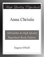 Anna Christie by Eugene O'Neill