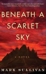 Beneath a Scarlet Sky by Sullivan, Mark