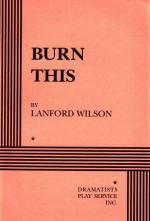 Burn This by Lanford Wilson