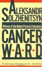 Cancer Ward by Aleksandr Solzhenitsyn