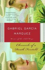 Chronicle of a Death Foretold by Gabriel García Márquez