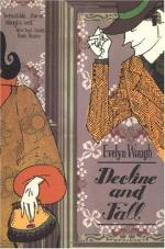 Decline and Fall by Evelyn Waugh