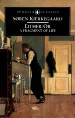 Either/Or by Søren Kierkegaard