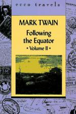 Following the Equator: A Journey Around the World by Mark Twain