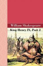 King Henry IV, Part II by William Shakespeare