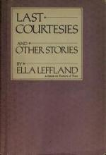 Last Courtesies by Ella Leffland