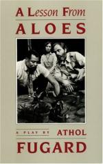 A Lesson from Aloes by Athol Fugard