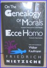 On the Genealogy of Morals by Friedrich Nietzsche