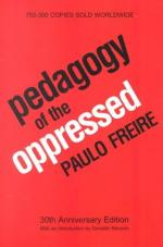 Pedagogy of the Oppressed by Paulo Freire