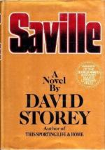 Saville by David (Malcolm) Storey