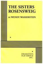 The Sisters Rosensweig by Wendy Wasserstein