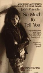 So Much to Tell You by John Marsden (writer)