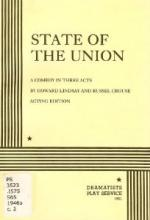 State of the Union by Howard Lindsay