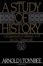 A Study of History by Arnold J. Toynbee