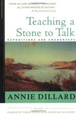 Teaching a Stone to Talk by Annie Dillard