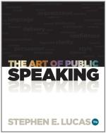 The Art of Public Speaking by Stephen Lucas