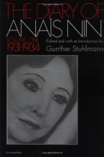 The Diary of Anaïs Nin Volume One by Anaïs Nin