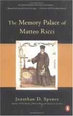 The Memory Palace of Matteo Ricci by Jonathan Spence