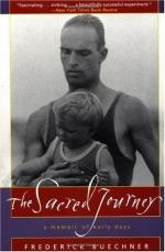 The Sacred Journey; a Memoir of Early Days by Frederick Buechner
