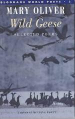 Wild Geese by Mary Oliver