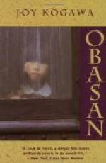 """""""Obasan"""" by"""