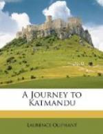 A Journey to Katmandu by Laurence Oliphant