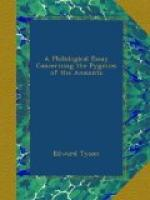A Philological Essay Concerning the Pygmies of the Ancients by Edward Tyson