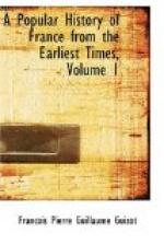 A Popular History of France from the Earliest Times, Volume 1 by François Guizot