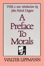 A Preface to Morals by Walter Lippmann