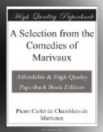 A Selection from the Comedies of Marivaux by Pierre de Marivaux